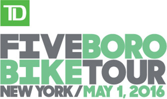 2016 TD Five Boro Bike Tour