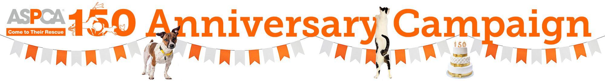 ASPCA 150th Anniversary Campaign